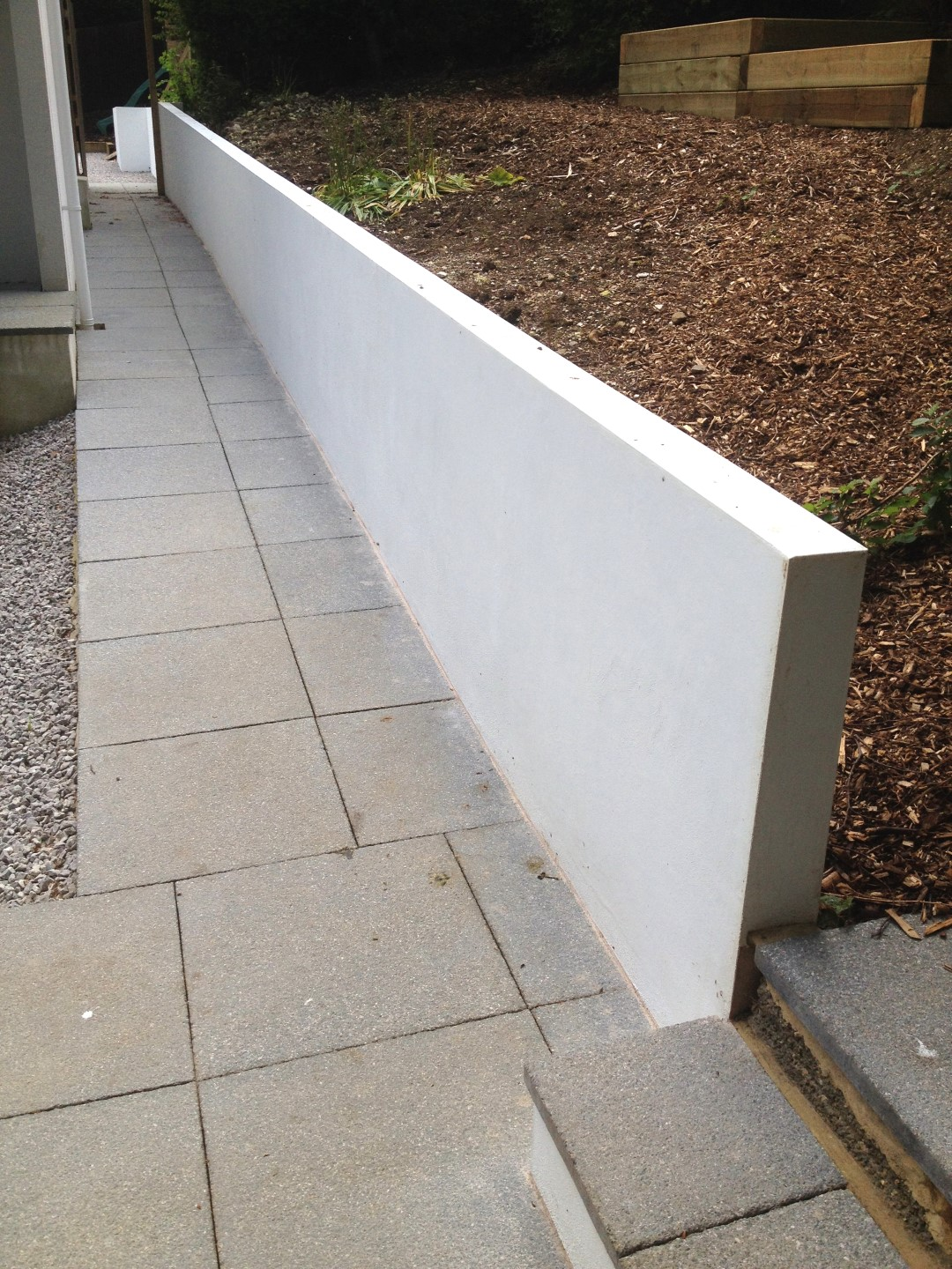 traditional lime rendering